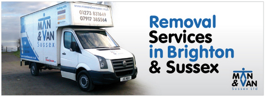 Man & Van Sussex Removal Services